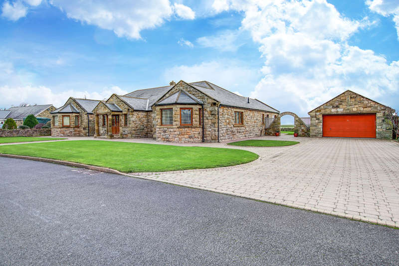 7 Bedrooms Bungalow for sale in The Croft, Longhoughton