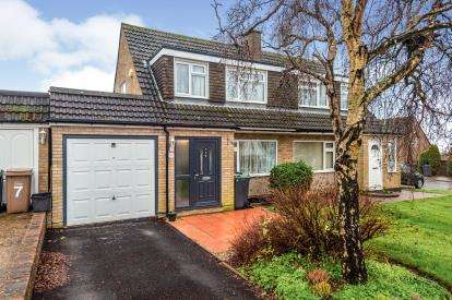 3 Bedrooms Semi Detached House for sale in Ketton Close, Luton, Bedfordshire, England