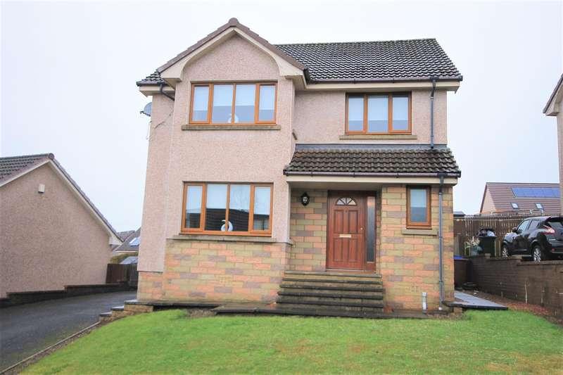 3 Bedrooms Detached House for sale in Robbiesland Drive, Cumnock
