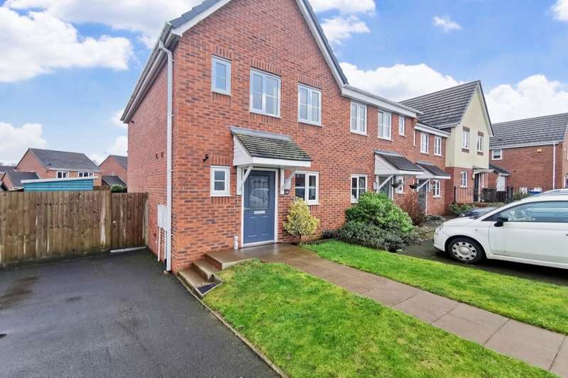 2 Bedrooms Semi Detached House for rent in Bath Street, Weston Coyney, Stoke-On-Trent, ST3