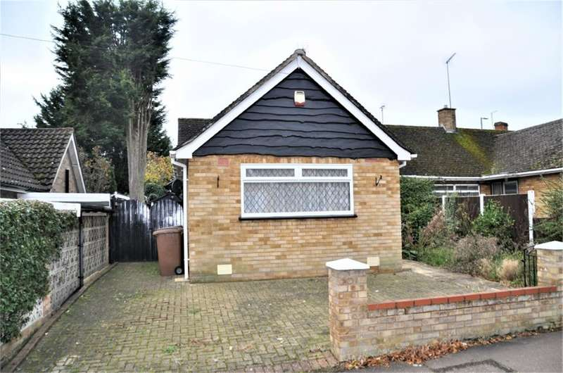 2 Bedrooms Semi Detached Bungalow for sale in 4 Aubrey Close, Chelmsford, Essex