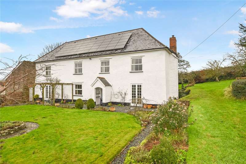 4 Bedrooms Detached House for sale in Morchard Bishop, Crediton, Devon, EX17