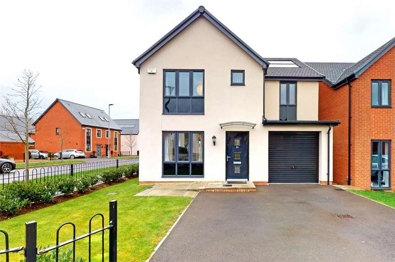 4 Bedrooms Detached House for sale in Bishops Cleeve, Cheltenham, Gloucestershire
