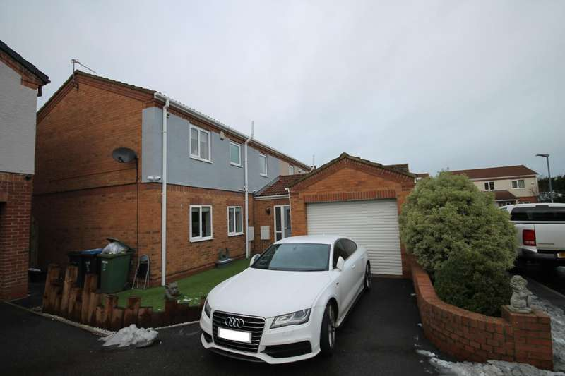 4 Bedrooms Semi Detached House for sale in Royal George Close, Shildon