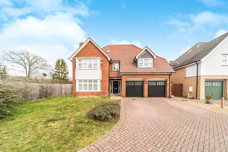 7 Bedrooms Detached House for sale in The Brambles, Great Barford, Bedford, Bedfordshire, MK44