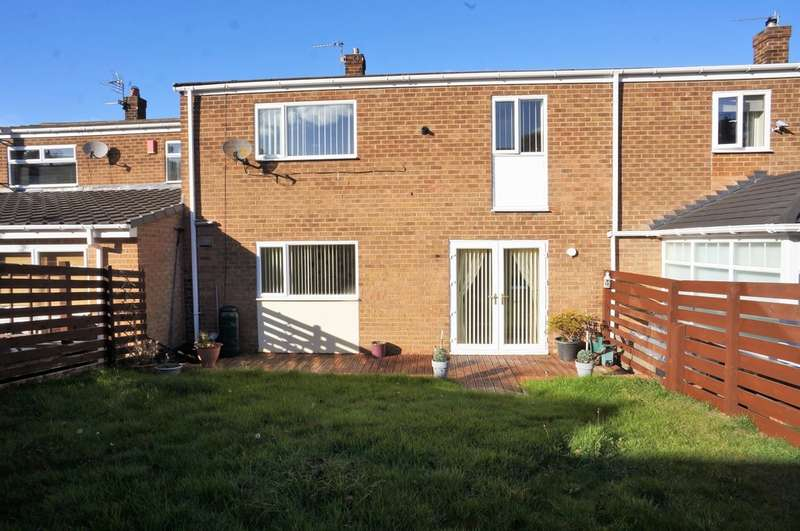 3 Bedrooms Terraced House for rent in Shield Row Gardens, Stanley