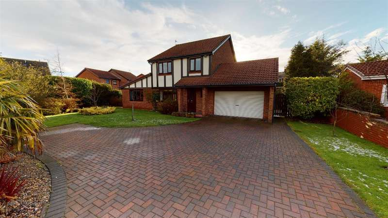 5 Bedrooms Detached House for sale in Abbots Way, North Shields, NE29 8LX