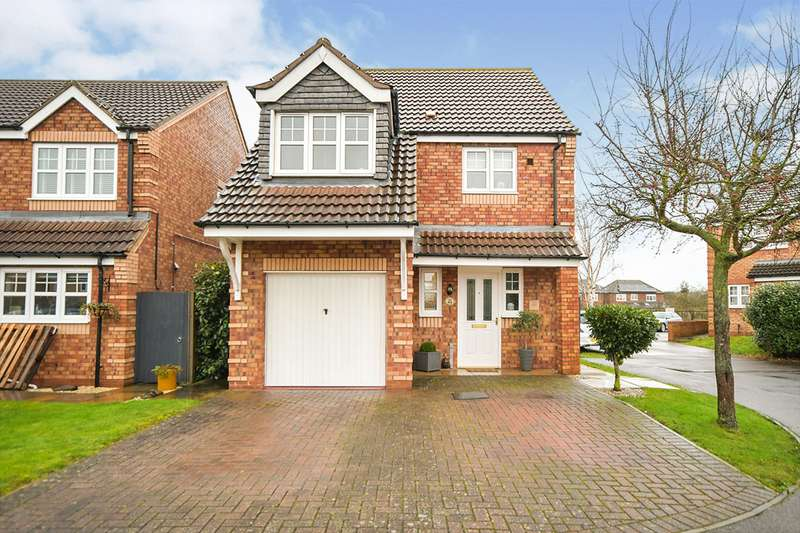 3 Bedrooms Detached House for sale in Rivermead, Lincoln, LN6