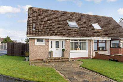 2 Bedrooms Semi Detached House for sale in Curran Avenue, Wishaw, North Lanarkshire