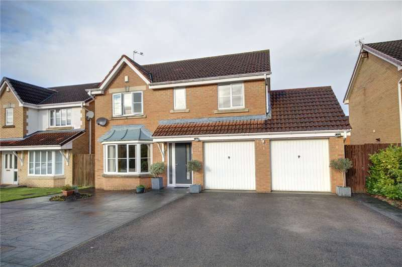 4 Bedrooms Detached House for sale in Bluebell Drive, Spennymoor, Durham, DL16