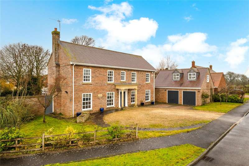 5 Bedrooms Detached House for sale in Danesfield, Threekingham, Sleaford, Lincolnshire, NG34
