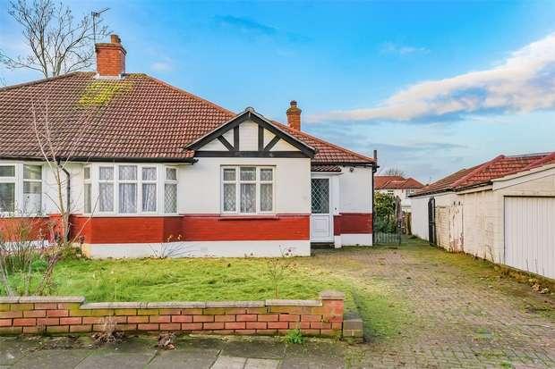 3 Bedrooms Semi Detached Bungalow for sale in Tudor Close, LONDON
