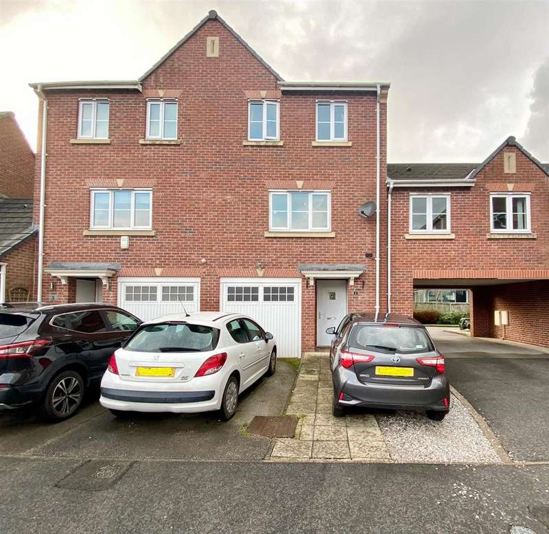 3 Bedrooms Town House for sale in Great Oak Square, Mobberley, Knutsford