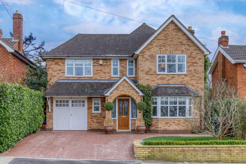 4 Bedrooms Detached House for sale in Hazelton Road, Marlbrook, Bromsgrove, B61 0JE