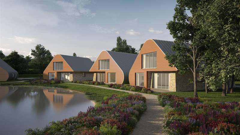 4 Bedrooms Detached House for sale in Markham Moor Custom Built Holiday Lodges