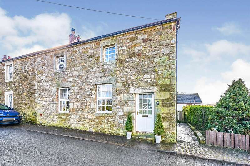 2 Bedrooms End Of Terrace House for sale in Dairy Cottages, Low Row, Brampton, Cumbria, CA8