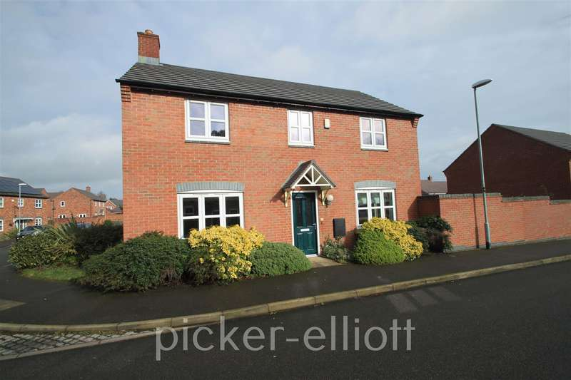 4 Bedrooms Detached House for sale in Holywell Fields, Hinckley