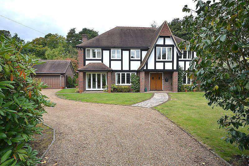 5 Bedrooms Detached House for sale in Ashley Drive, Walton-On-Thames, KT12