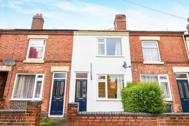 2 Bedrooms Terraced House for rent in Ashby Road, Coalville, Leicestershire, LE67