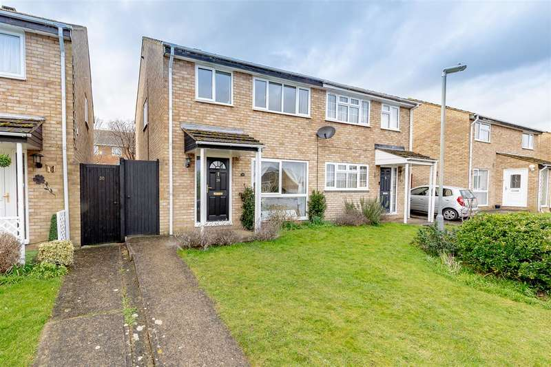 3 Bedrooms Semi Detached House for sale in Elmlea Drive, Olney