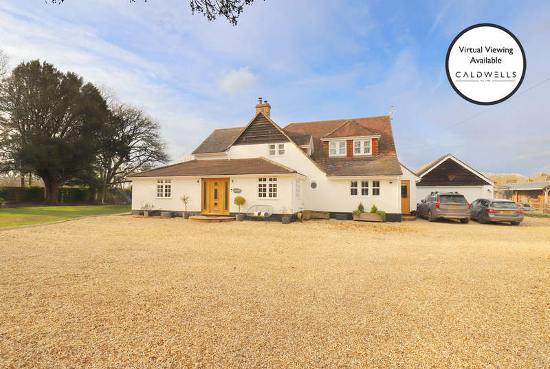 4 Bedrooms Detached House for sale in Crabbswood Lane, Sway, Lymington, Hampshire