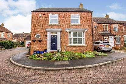 3 Bedrooms Detached House for sale in Linen Way, Northallerton