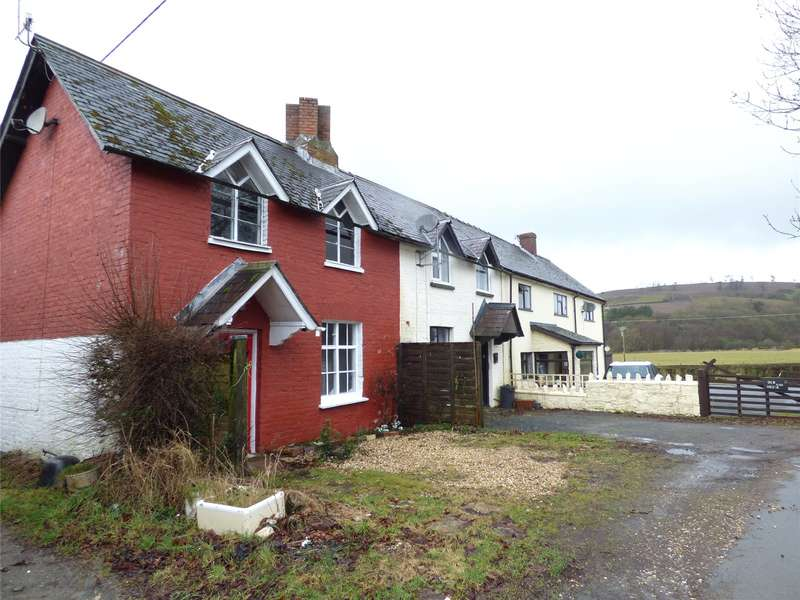 2 Bedrooms Semi Detached House for sale in Llanddewi, Llandrindod Wells, Powys, LD1 6SE