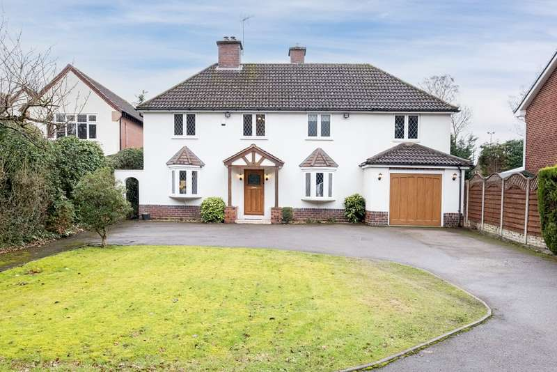 5 Bedrooms Detached House for sale in Thornhill Road, Sutton Coldfield, B74