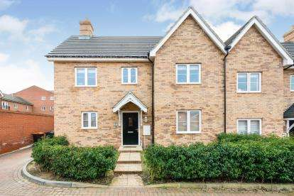 3 Bedrooms Semi Detached House for sale in Potter Meadows, Shortstown, Bedford, Bedfordshire