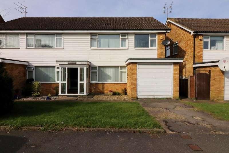 2 Bedrooms Maisonette Flat for sale in St Martins Avenue, Luton, Bedfordshire, LU2 7LQ