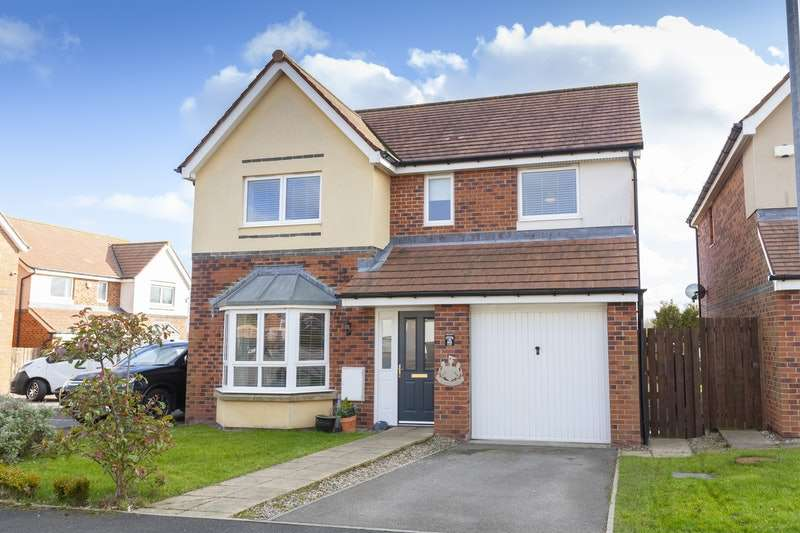 4 Bedrooms Detached House for sale in Coneygarth Place, Ashington, Northumberland, NE63