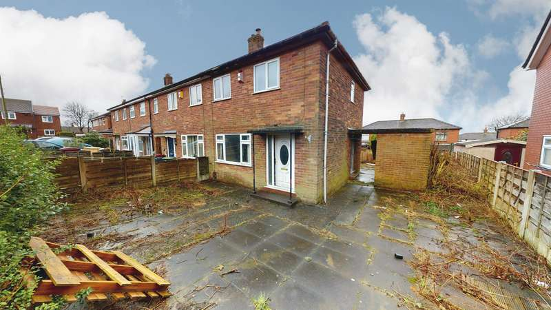 2 Bedrooms End Of Terrace House for sale in Barnacre Avenue, Breightmet, Bolton, BL2 6LA