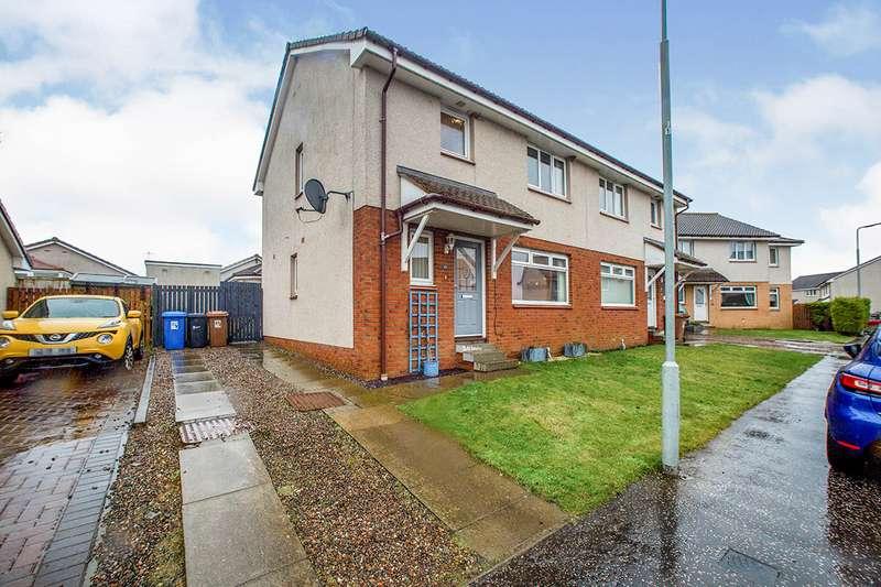 3 Bedrooms Semi Detached House for sale in Braekirk Gardens, Kirknewton, West Lothian, EH27