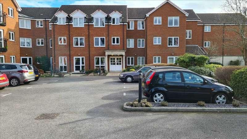 1 Bedroom Retirement Property for sale in Milward Court, Warwick Road, Reading