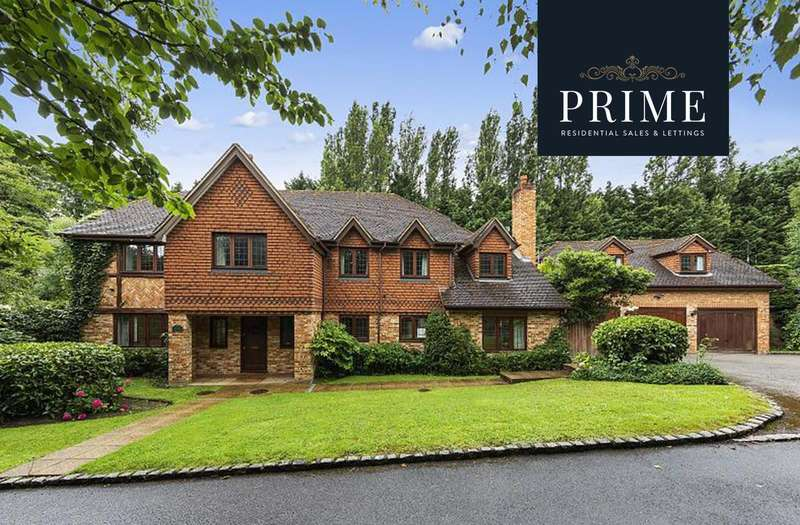 5 Bedrooms Detached House for sale in Highfield Close, Oxshott, KT22
