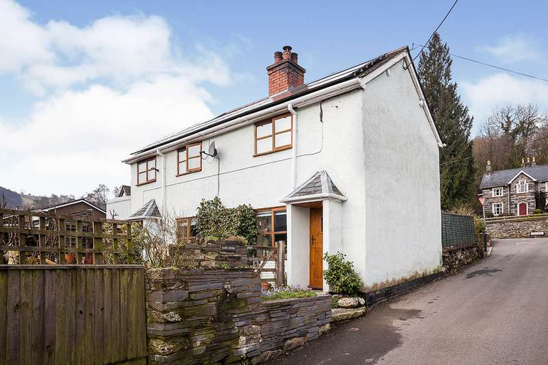 2 Bedrooms Detached House for sale in Glyn Ceiriog, Llangollen, Wrecsam, LL20