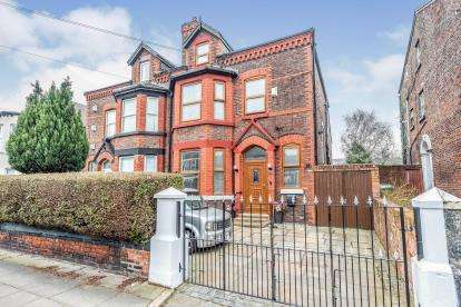 6 Bedrooms Semi Detached House for sale in Marlborough Road, Liverpool, Merseyside, England, L13