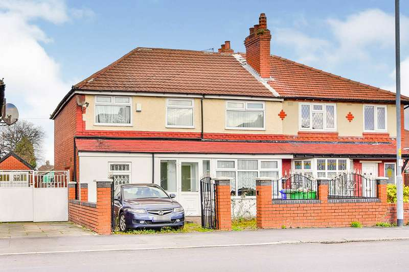 4 Bedrooms Semi Detached House for sale in Mauldeth Road, Manchester, Greater Manchester, M19