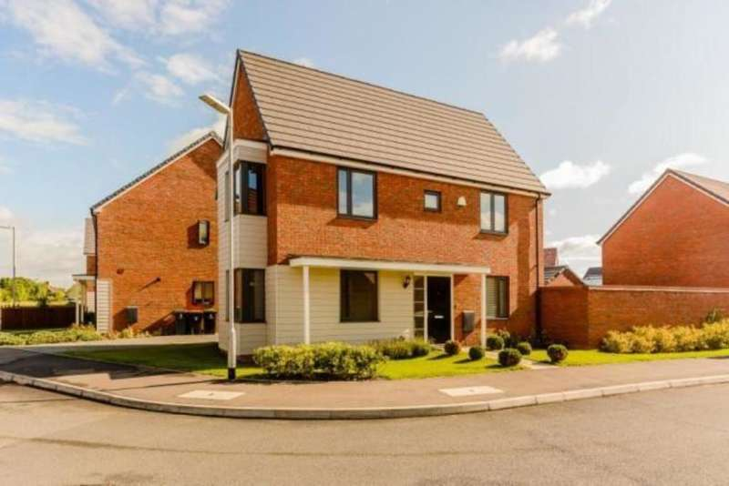3 Bedrooms Detached House for sale in Arthur Black Way, Wootton, Bedford, MK43