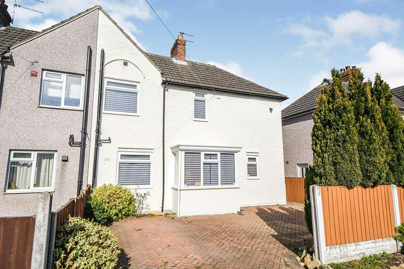 2 Bedrooms Semi Detached House for sale in Addison Drive, Lincoln, Lincolnshire, LN2
