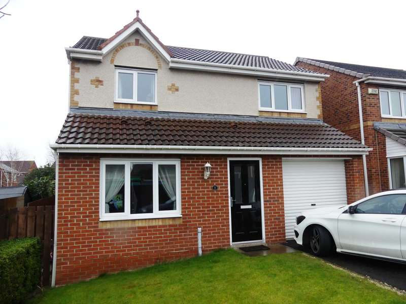 3 Bedrooms Detached House for sale in Didcot Close, Redcar