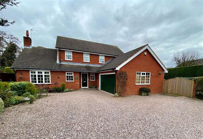 4 Bedrooms Detached House for sale in Highlows Lane, Yarnfield, Stone