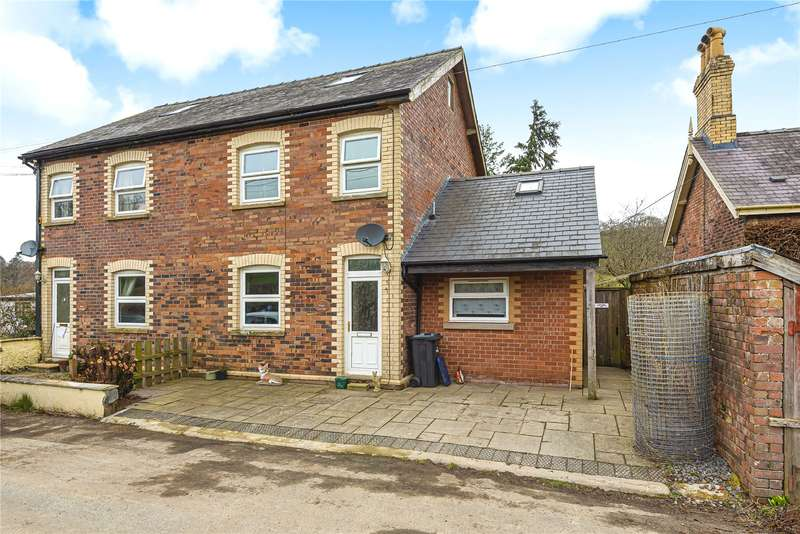 4 Bedrooms Semi Detached House for sale in Llanbister Road, Llandrindod Wells, Powys, LD1 5UW
