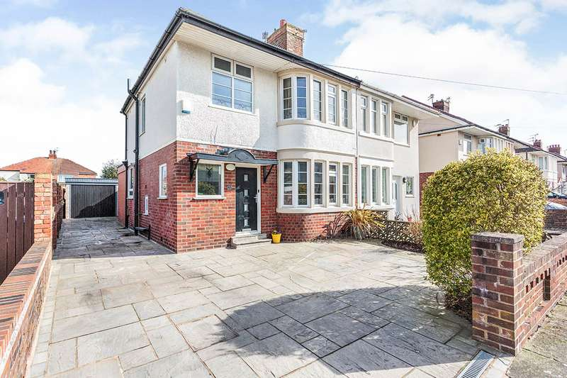 3 Bedrooms Semi Detached House for sale in Westby Avenue, Blackpool, Lancashire, FY4