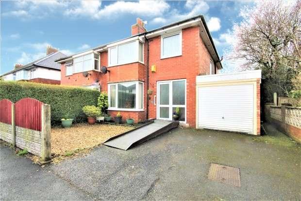 3 Bedrooms Semi Detached House for sale in Carleton Avenue, Preston, PR2