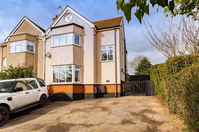 3 Bedrooms Semi Detached House for sale in Runwell Road, Wickford