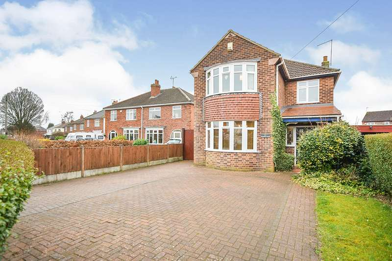 4 Bedrooms Detached House for sale in Hykeham Road, Lincoln, Lincolnshire, LN6