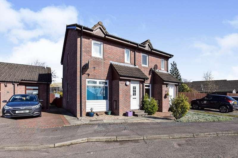2 Bedrooms Semi Detached House for sale in Dovehill, Alloa, Clackmannanshire, FK10