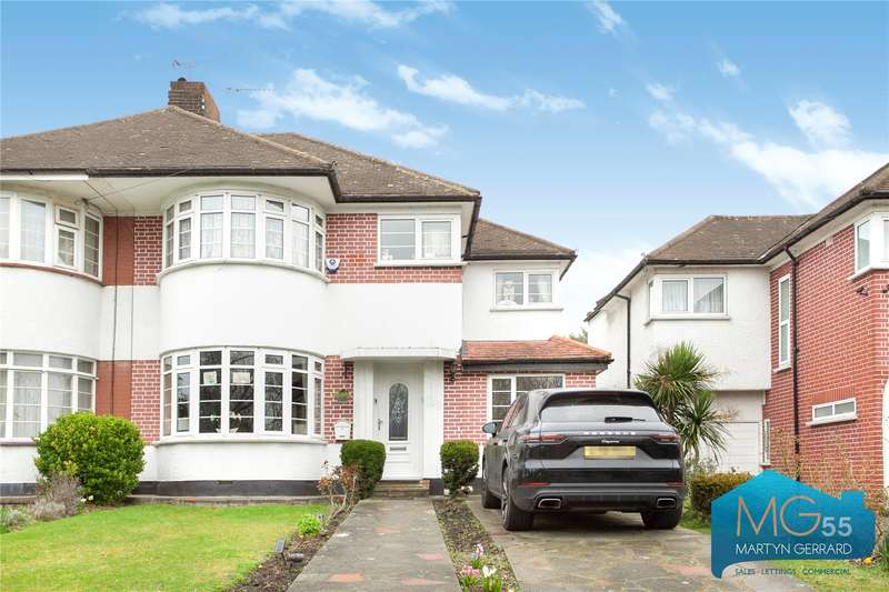 4 Bedrooms Semi Detached House for sale in Hampden Way, Southgate, London, N14