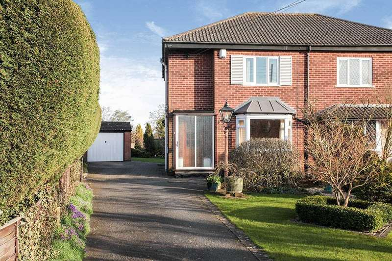 3 Bedrooms Semi Detached House for sale in Coventry Road, Bulkington, Bedworth, Warwickshire, CV12
